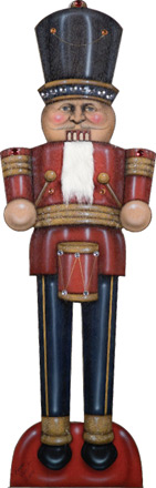 Nutcracker - Red - A Christmas Decoration & Display from Cottages and Gardens