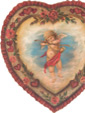 Valentine Heart - A Valentine Decoration & Romantic Display from Cottages and Gardens