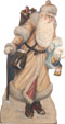 Victorian Santa - A Christmas Decoration & Display from Cottages and Gardens