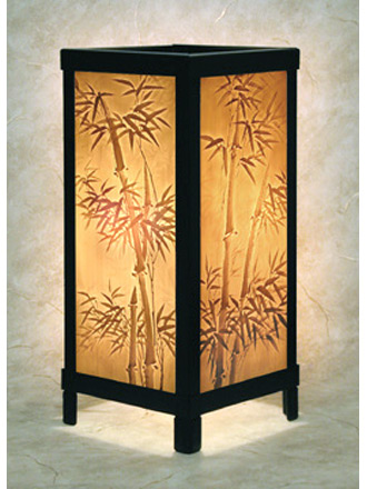 bamboo luminaire a porcelain lithophane luminaire from. Black Bedroom Furniture Sets. Home Design Ideas